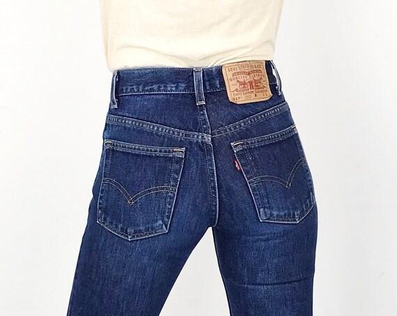 Levi's 517 Boot Cut Jeans / Size 23