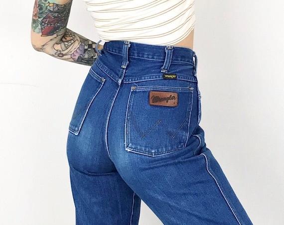 70's Wrangler Blue Bell Jeans / Size 26
