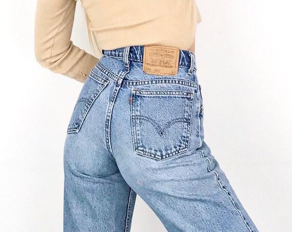 Levi's 950 Orange Tab Jeans / Size 27