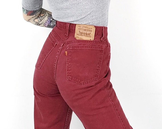 Levi's 912 Red Jeans / Size 26
