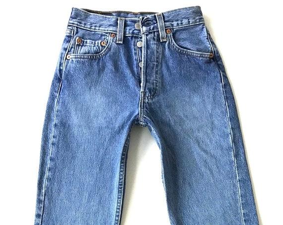 RARE XXS Levi's 501 Vintage Jeans / Size 22 23