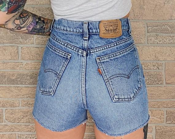 Levi's Orange Tab Shorts / Size 26 27