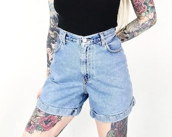 ab455d70ce Calvin Klen CK 90's Denim Cuff Shorts / Size 28 29