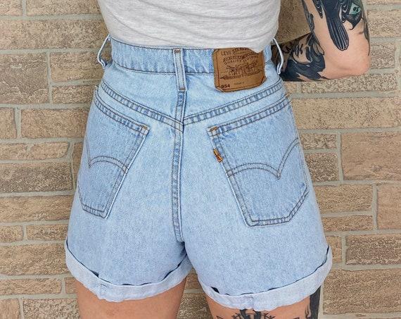 Levi's 954 Orange Tab Shorts / Size 27 28