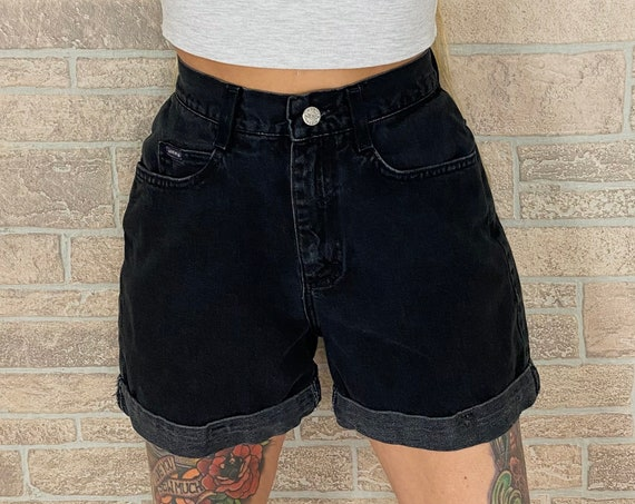 Riders Vintage Black Shorts / Size 26