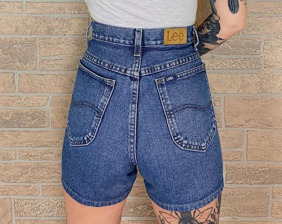 Vintage Lee Denim Shorts / Size 29