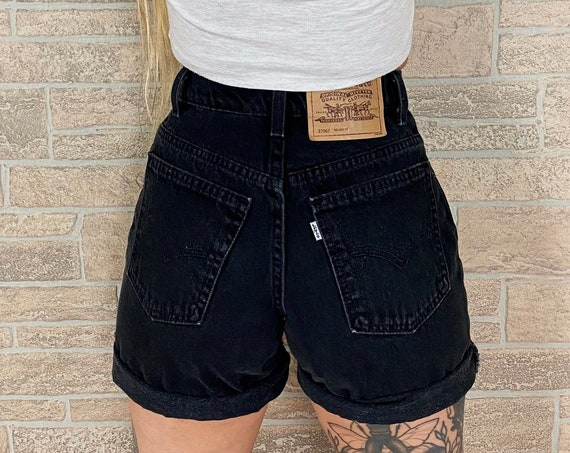 Levi's 950 Black Shorts / Size 25