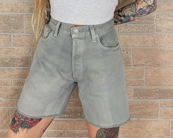 Levi's 501 Grey Shorts / Size 29