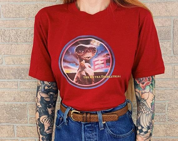 80's Vintage E.T. Movie Promo Tee T-Shirt