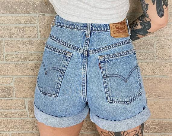 Levi's 967 Vintage Denim Shorts / Size 29 30