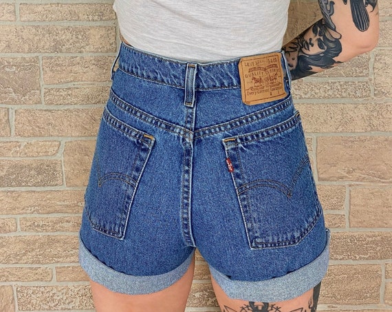 Levi's 90's Denim Shorts / Size 32