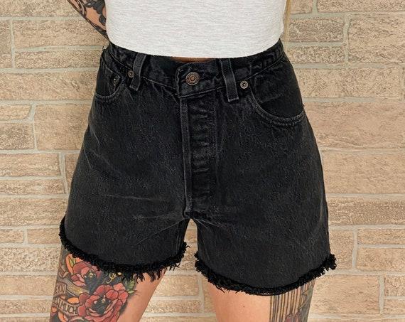 Levi's 501 Black Shorts / Size 29 30