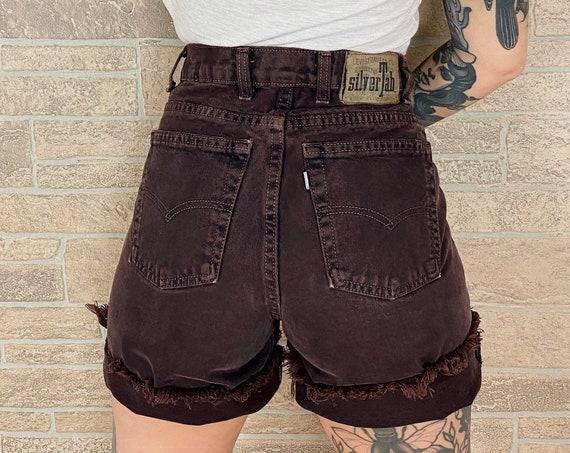 Levi's SilverTab Brown Denim Shorts / Size 27 28