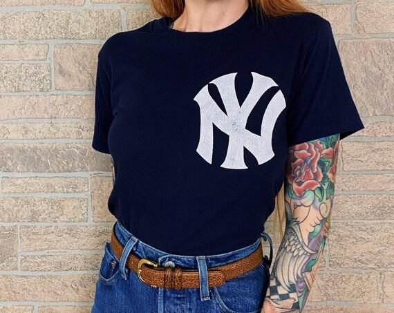 80's New York Yankees Baseball Don Mattingly #23 Tee T-Shirt