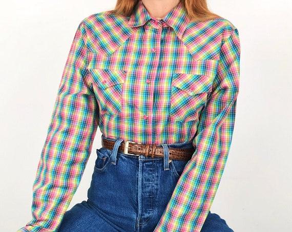Rockies Deastock Pearl Snap Western Shirt