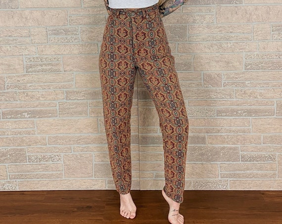 Limited Jeans Tapestry Trousers Pants