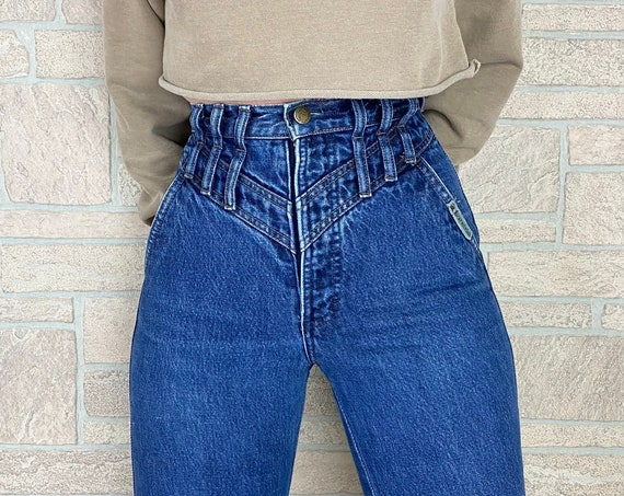 Rocky Mountain High Waisted Western Jeans / Size 23