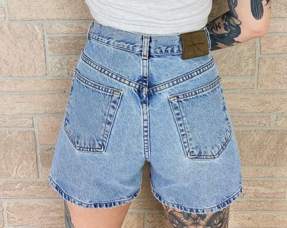 Calvin Klein CK Vintage Jean Shorts / Size 27 28