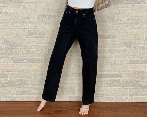 Levi's 555 Washed Black Jeans / Size 26 27