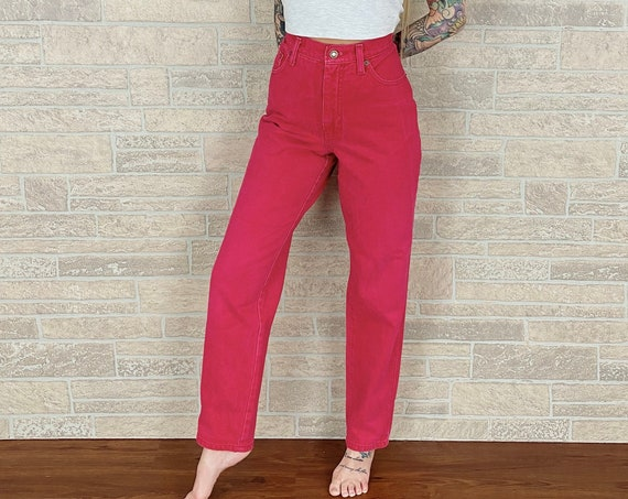 Express Vintage Pink Fuchsia Jeans / Size 29 30