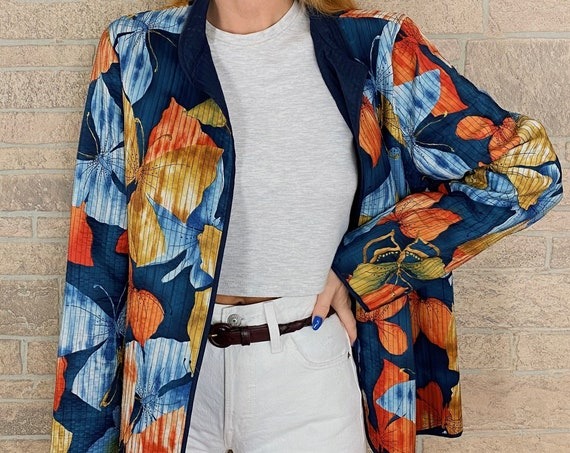 Butterfly Print Lightweight Jacket