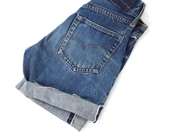 Levi's Selvedge Redline Jean Shorts / Size XXS 21 22