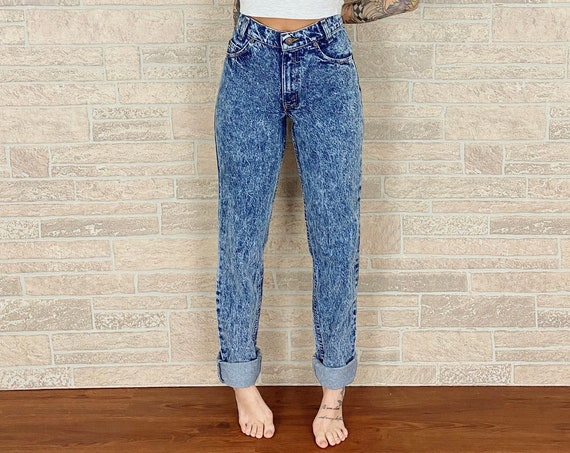 Levi's 705 Orange Tab Jeans / Size 25