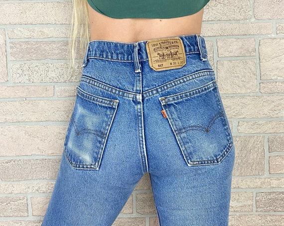 Levi's 517 Orange Tab Jeans / Size 26 27