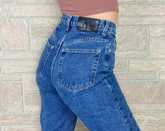 90's High Waisted Vintage Jeans / Size 27
