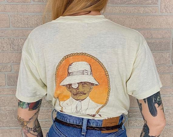 80's Thin and Soft Panama Jack Original Sun Tan Products Promo T-Shirt