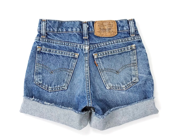 Levi's Orange Tab Shorts / Size 22 XXS