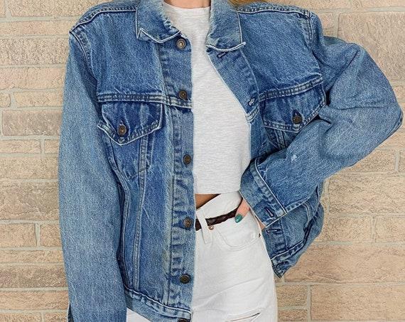 Vintage Levi's Faded Denim Jacket