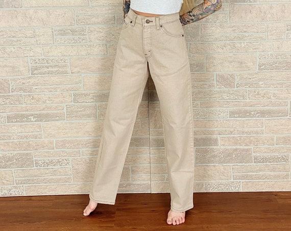Levi's Orange Tab 555 Beige Jeans / Size 28 29