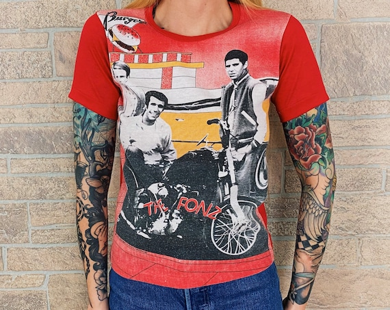 1970's Happy Days The Fonz TV Promo T-Shirt