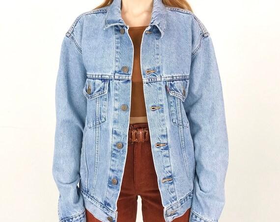 Vintage Levi's Light Wash Denim Jacket