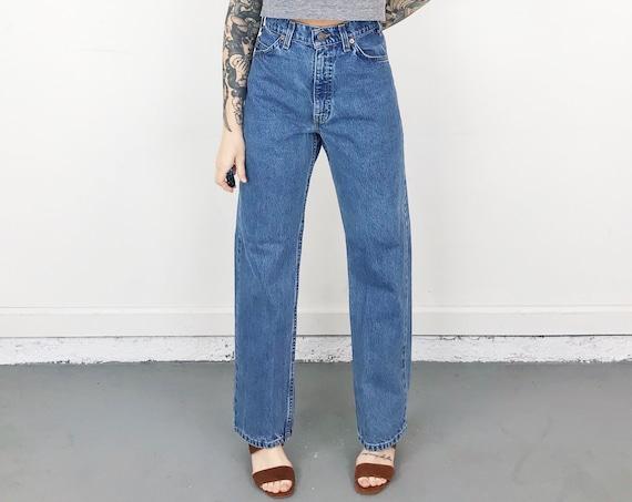 Levi's 505 Orange Tab Jeans / Size 31