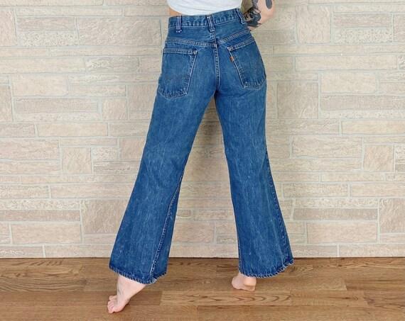 Levi's 70's Orange Tab 684 Bell Bottom Jeans / Size 30