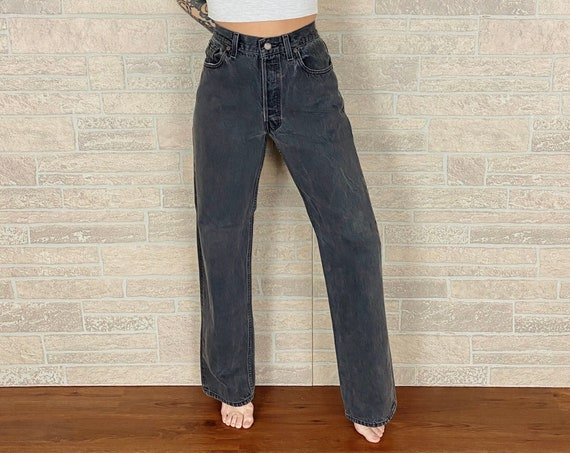 Levi's 501 Faded Black Jeans / Size 30