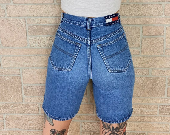 Tommy Hilfiger Embroidered Bermuda Shorts / Size 23