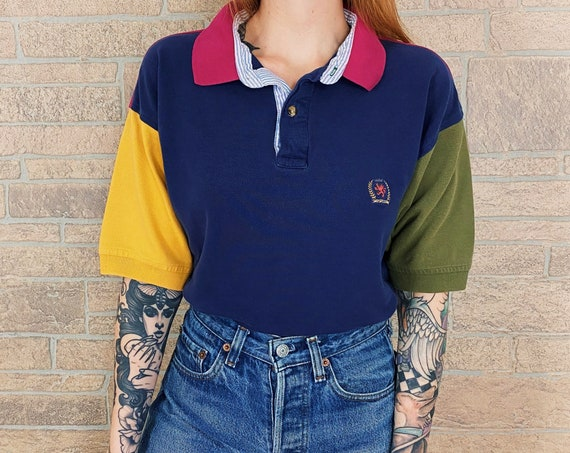 Tommy Hilfiger Colorblock Polo Shirt