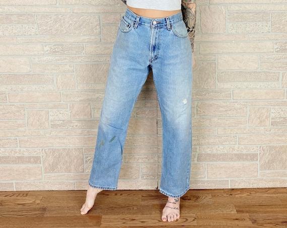 Levi's 505 Distressed Painter Jeans / Size 31 32