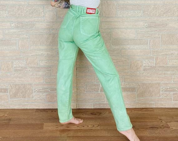 Bongo Mint Green Vintage Jeans / Size 28