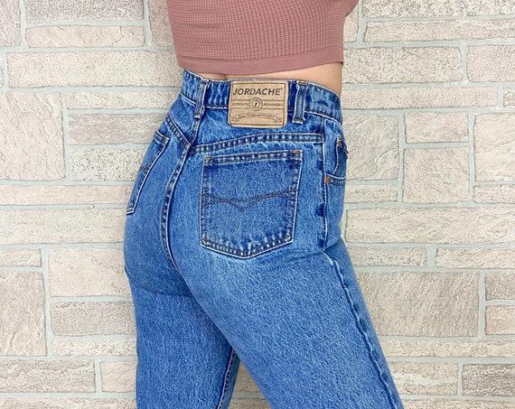 Jordache 90's High Waisted Jeans / Size 25