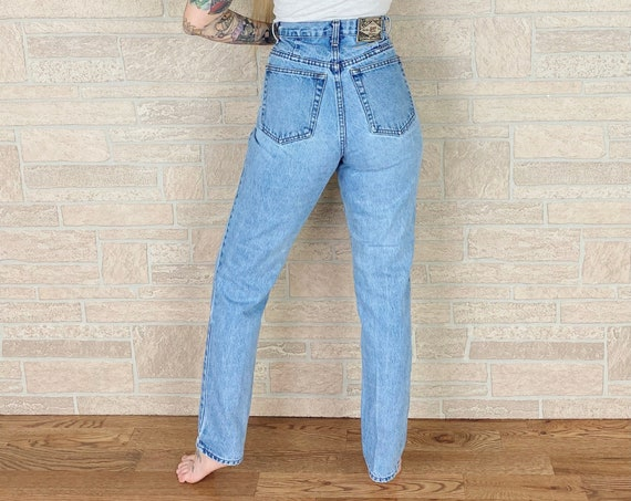 90's Express High Waisted Jeans / Size 26 27
