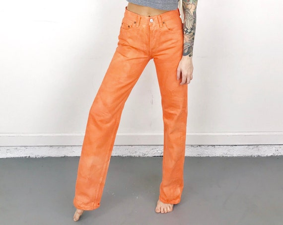 Levi's 501 Salmon Overdye Jeans / Size 25 26