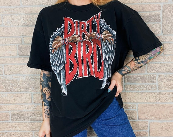 90's Vintage Dirty Bird Atlanta Falcons T-Shirt