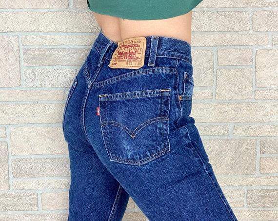 Levi's 505 Straight Leg Jeans / Size 26 27