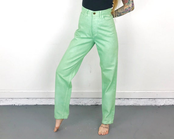 Guess Mint Green Vintage Jeans / Size 28 29
