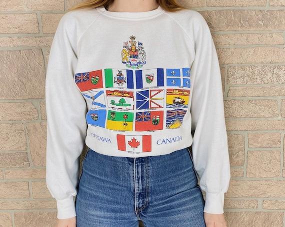 1987 Ottawa Canada Novelty Souvenir Vintage Pullover Sweatshirt