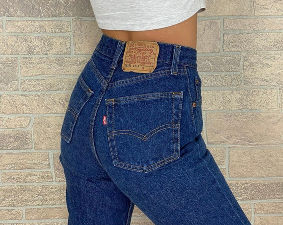 Levi's 501 Shrink to Fit Jeans / Size 24